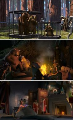 I just noticed this in Shrek