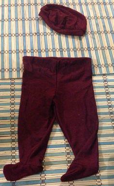 Conjunto de pantalón y boina