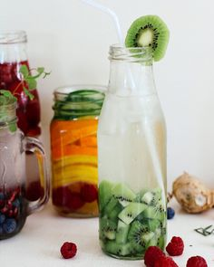 Detox water recept