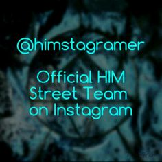 HIM Fans on Instagram, check out @himstagramer for band photos, news, fan submitted art and more!