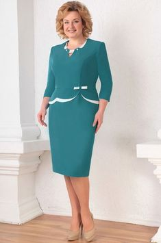 Платье Асолия, морская волна (модель 2306-1) — Белорусский трикотаж в интернет-магазине «Швейная традиция»