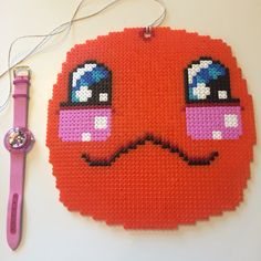 Big #hama inspired by #kawaii    #beads #design #pattern #kids #crafts @GetaViola