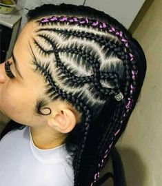 Hairstyles For School, Cute Hairstyles, Afro Style, Hair Remedies, Natural Styles, Braid Styles, Quinceanera, Hair And Nails, Braids