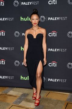 On The Scene: Paley Center's 33rd Annual PaleyFest Los Angeles with Serayah in Cushnie Et Ochs, Grace Gealey in Cristallini, TaRhonda Jay in Evolution of J Bailey and More!
