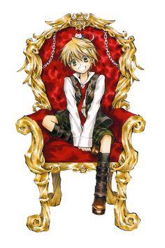 Oz Vessalius's Character Chair  Pandora Hearts : Original Artwork