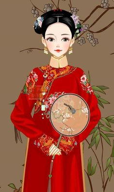 Chinese Marriage, Creative Pictures, Secret Love, Woman Painting, Chinese Art, Chibi, Doodles, Cosplay, Disney Princess