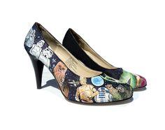 Custom Hand Painted Heels Ultimate Fan Must by eastbaycalifornia. $219.00 USD, via Etsy.