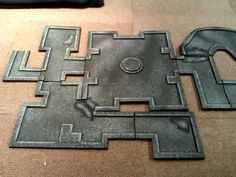 My Modular cheap and quick to make Dungeon Tiles for D, Pathfinder RPG