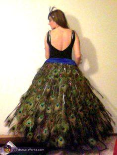 Peacock Costume - Halloween Costume Contest