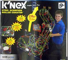 K'NEX Steel Scorpion Roller Coaster K'Nex http://www.amazon.com/dp/B005RTZLN0/ref=cm_sw_r_pi_dp_Ff5Yvb0213QA9