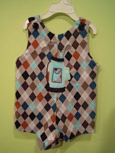 Argyle Golf Bag Johnny by TWINSANDQUINN on Etsy, $25.00