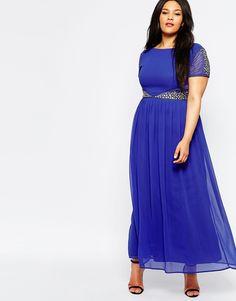 Image 4 ofLovedrobe Maxi Dress With Embellished Waist