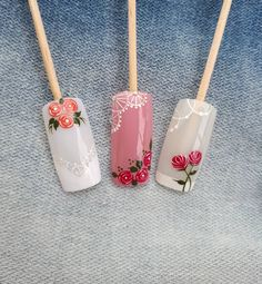 Sobre amar o que se faz ❤❤❤ Summer Shellac Designs, Cute Nail Art Designs, Manicure Y Pedicure, Nail Studio, Christmas Nail Art, Flower Nails, Natural Nails, Cute Nails, Hair Beauty
