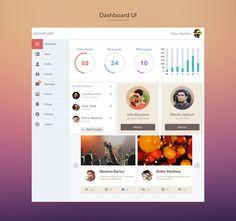 Dashboard UI on Behance