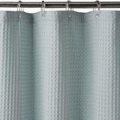Sonoma Blue Waffle Weave Fabric Shower Curtain Cotton Bath by Sonoma, http://www.amazon.com/dp/B00BYLIMLI/ref=cm_sw_r_pi_dp_o0KRrb0Q2QKMA