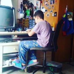 #mourad #lego #gioca #scrivania by liana72mantovani