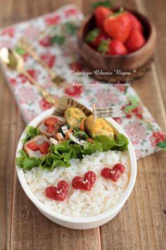 練り梅ハートのお弁当♪~女の子のお弁当~ by あ〜るママさん   レシピブログ - 料理ブログのレシピ満載!