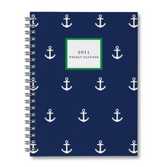 Navy, White and Kelly Green!