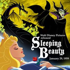 It was this day in 1959 that #SleepingBeauty awoke to love's first kiss.