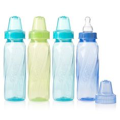 Evenflo Classic bottles and nipples provide a complete line of feeding solutions for your baby's changing needs. Delivering a twist on an iconic classic, The Evenflo Classic Tinted Polypropylene Bottles feature classic styling with an ergonomic shape. These uniquely shaped, lightweight and easy-to-hold tinted bottles are equipped with a Classic Slow Flow soft silicone nipple, featuring Micro Air Vents to help prevent nipple collapse and promote a more comfortable feeding experience. The unique s Toddler Tooth Decay, Dr Brown Bottles, Baby Binky, Target Baby, Plastic Babies, Bottle Top, Bottle Feeding, Baby Bottles, Water Bottles