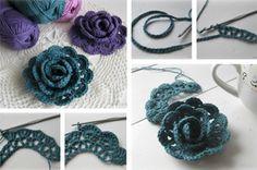Flores-de-Croche-Aprenda-a-Fazer-voce-mesmo-1.jpg (663×439)