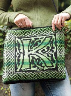Morris Satchel Pattern - Knitting Patterns by Kerin Dimeler- Laurence