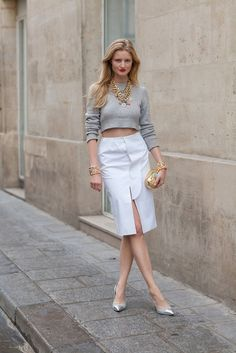 Street style: The Pencil Skirt