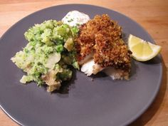 Jamie Oliver's 30 Minute Meals: Tasty Crusted Cod
