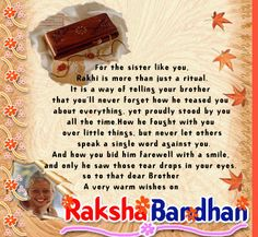 Raksha Bandhan Messages, Like You, Let It Be, Stand By You, Your Brother, Rakhi, Bond, Sisters, Movie Posters