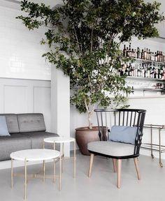 Modern Nordic Design Jazz Club contemporary indian cuisine restaurant 7