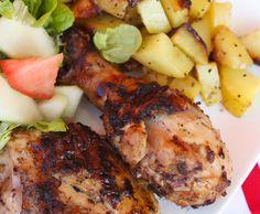pouletschenkel mit mango & chili