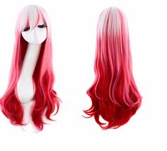 The Harajuku long ombre wig is the perfect piece for those days you'd just like to change things up! Whether you wear it to school, for a costume party, to imitate your favorite anime character or to