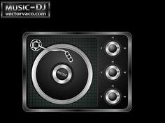 DJ Mixer Free vector