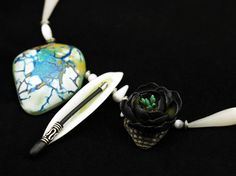 Polymer clay necklace #polymer_clay #necklace #handmade #polymer_clay_art #polymer_clay_creations