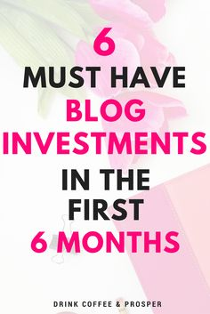 6 BLOG INVESTMENTS T