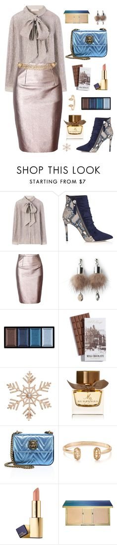 """Work It!"" by celida-loves-pink ❤ liked on Polyvore featuring Tory Burch, Simons, Clé de Peau Beauté, John Lewis, Burberry, Gucci, Kendra Scott, Estée Lauder, tarte and Maison Mayle"