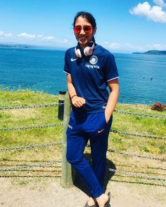 Image may contain: 1 person, standing, ocean, sky, outdoor and nature Cricket Wallpapers, Sports Wallpapers, Mumbai Indians Ipl, Girl Symbol, Mithali Raj, Best Whatsapp Dp, India Cricket Team, Sachin Tendulkar, Sports Personality