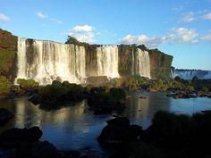 Cataratas del Iguaz en Brasil