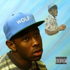 """Tyler the Creator, """"Wolf"""" Album Cover Art. This literally sells records. Rap Album Covers, Worst Album Covers, Music Covers, Iconic Album Covers, Box Covers, Odd Future, Future Music, Photoshop, Wolf Album"""