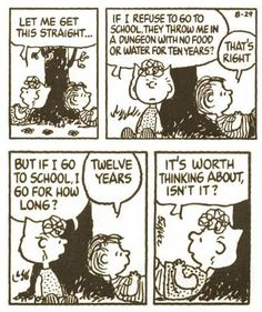 August 29, 1991 Linus Peanuts, Peanuts Cartoon, Charlie Brown And Snoopy, Snoopy Cartoon, Calvin And Hobbes Comics, Snoopy Comics, Snoopy Love, Snoopy And Woodstock, Snoopy School
