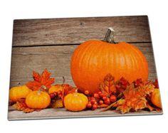 Zucche halloween lascia vetro Chopping Board 073 - cucina - casa - casa - lavoro - regalo - mamma - mamma - Nan - sorella