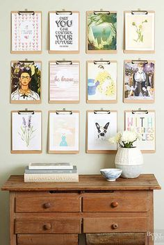 Cool Clips - Gallery Walls That Feel So Unexpected - Photos