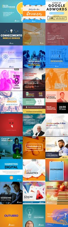 Social Media - iLearn on Behance