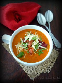 My delicious recipe for Tomato Basil Soup with Asiago & Bacon will take the average Tomato soup to an entirely new level of delicious warmth in your belly on these cold winter months combining ...