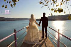iskelede düğün fotoğrafları
