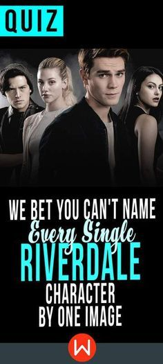 Can you name the characters from the CW show, Riverdale? Test your knowledge on this television quiz to see how you do! I got Riverdale fan! Riverdale Quiz, Riverdale Quotes, Riverdale Cast, Harry Potter Movie Quiz, The 100 Quiz, Fun Quizzes, Quizzes For Teenagers, Riverdale Characters, Playbuzz Quizzes