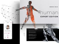 human Expert Edition for PowerPoint designed by Templates. the global community for designers and creative professionals. Presentation Design, Presentation Templates, Train Information, Crystal Palace, Silver Spring, Motion Design, Double Exposure, Aesthetic Art, Creative