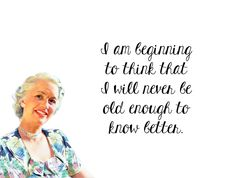 """Quirky Quotes by Vintage Jennie   """"Know Better"""""""