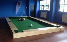 Fußball Billard - Soccerpool - Indoor Court, 26qm