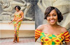 I Do Ghana | Bride: Vicky | Photos: Ekow Arkorful Photography | Mua: Touch/Makeup Artistry | Kente Bride